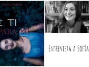Entrevista a la escritora Sofía Parra