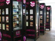 Expansión de las máquinas expendedoras de libros
