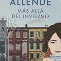 """Isabel Allende regresa a las librerías con """"Más allá del invierno"""""""