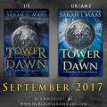 """Portada revelada de """"Tower of Dawn"""", de Sarah J. Maas"""