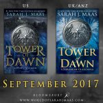 "Portada revelada de ""Tower of Dawn"", de Sarah J. Maas"
