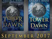 Portada revelada de «Tower of Dawn», de Sarah J. Maas
