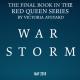 Tormenta de Guerra será el final de la saga La Reina Roja de Victoria Aveyard