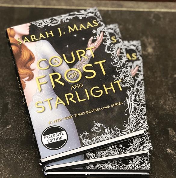 A Court Of Frost and Starling : echa un vistazo a su edición exclusiva