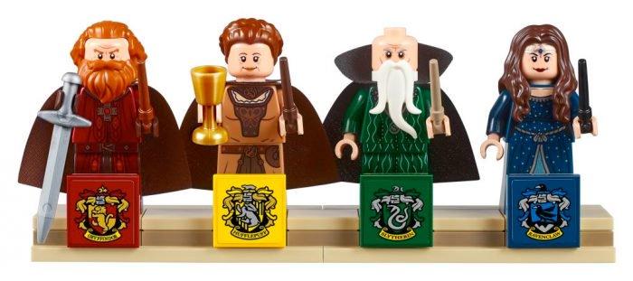 Hogwarts en LEGO Harrypotter-legohogwarts-founders-figures-700x311