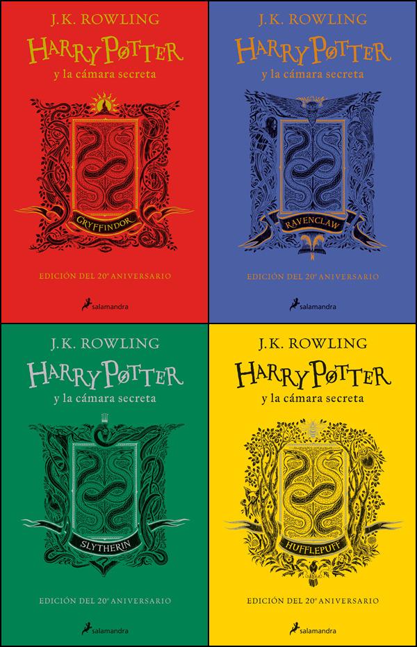 Harry Potter y la cámara secreta 20 aniversario llegará