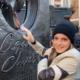 Emma Watson esconde y dedica ejemplares de Mujercitas