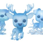 Los Funko Pop! del Patronus de Ron, Hermione y Harry Potter estarán disponibles fuera de Wizarding World
