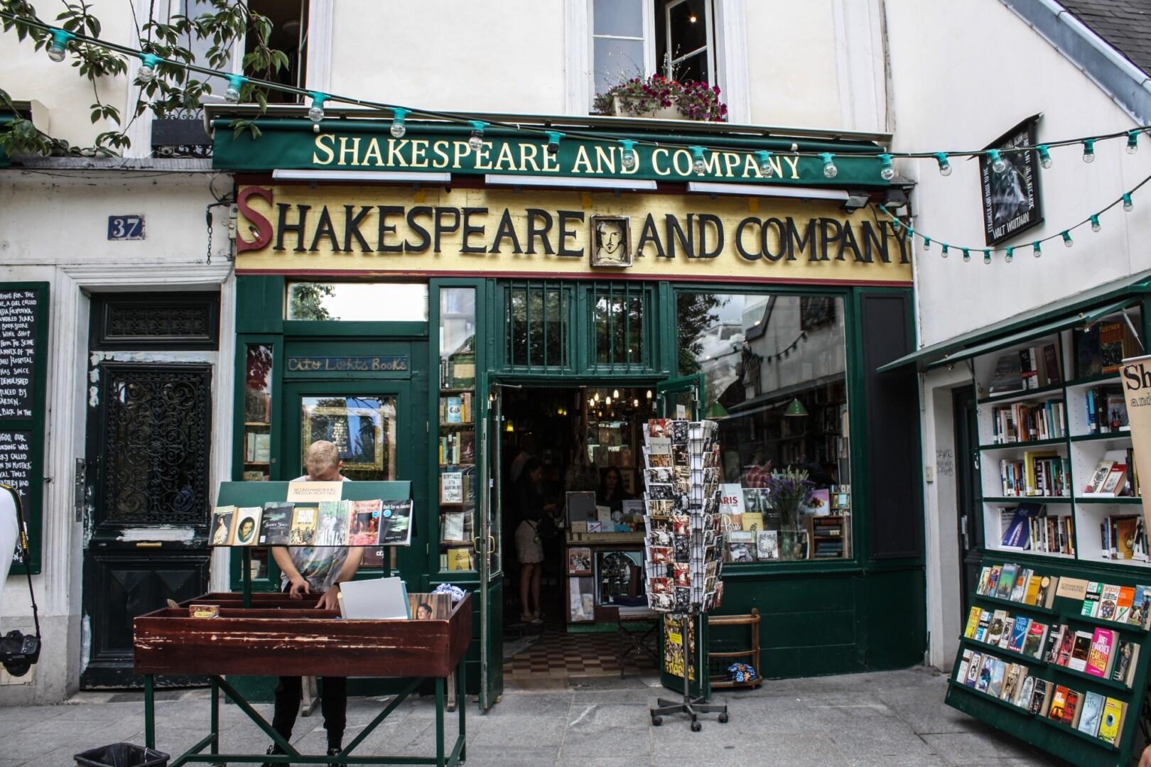 Librería Shakespeare and Company