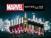 Maybelline anuncia una colección de cosmética de Marvel