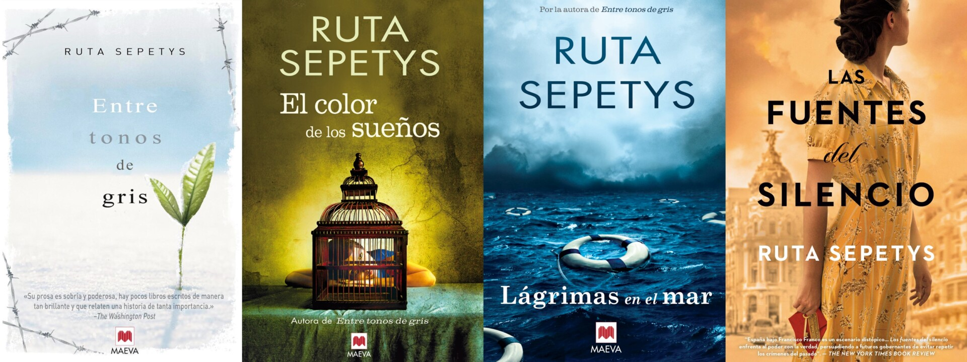 Ruta Sepetys novelas