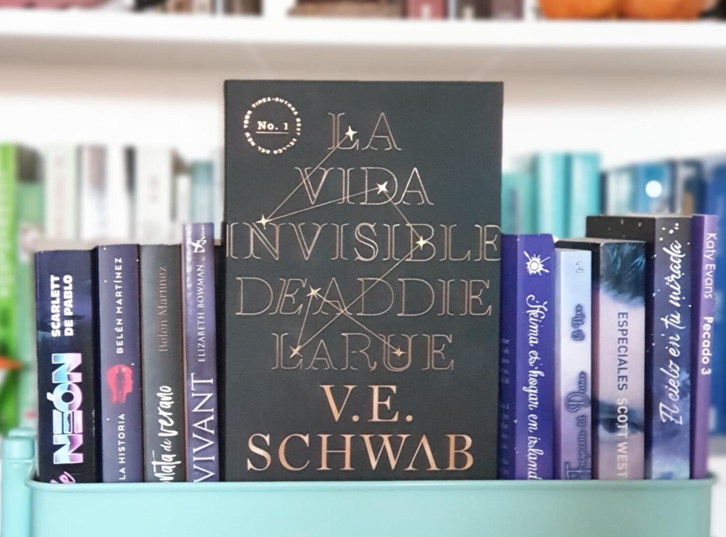 Reseña 'La vida invisible de Addie LaRue' de VE Schwab