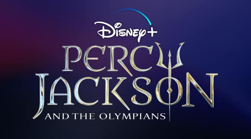Banner promocional de la próxima adaptación de Percy Jackson