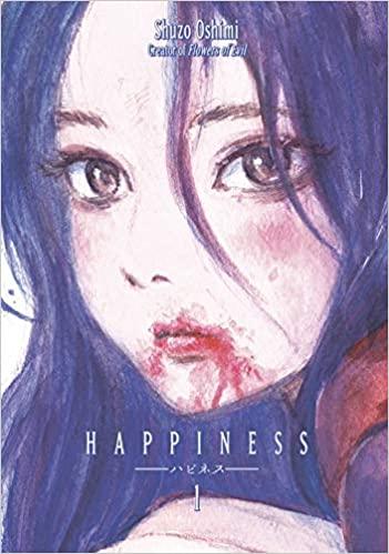 Portada de 'Happiness' de Shûzô Oshimi en su edición inglesa.