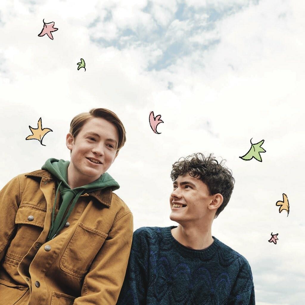 Actores que interpretarán a Charlie y a Nick en la serie Heartstopper de Netflix