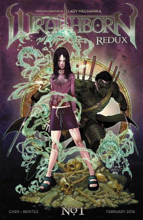 Imagen de la portada de 'Wraithborn Redux'
