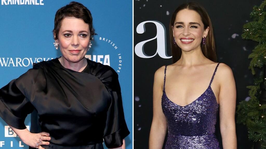 Fotografías de las actrices Olivia Colman y Emilia Clarke