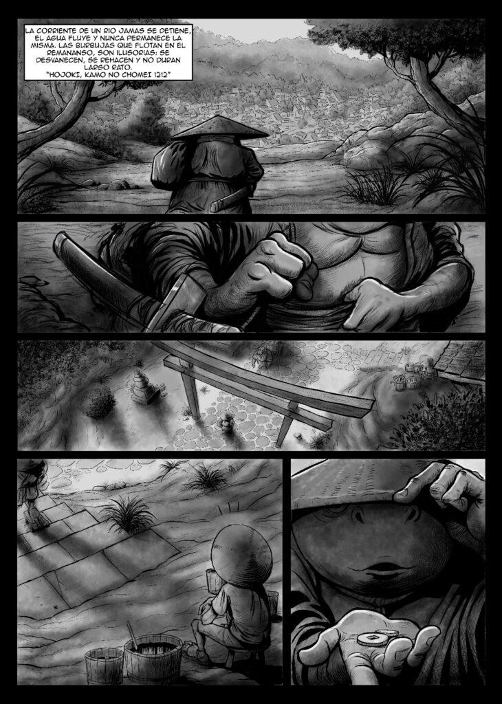 Imagen de una de las próximas obras del cómic nacional que publicará la editorial Kodai