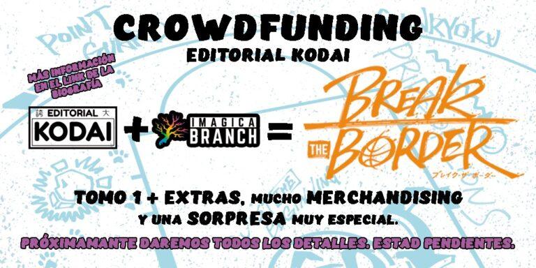 Imagen del crowdfunding de 'Break the Border'