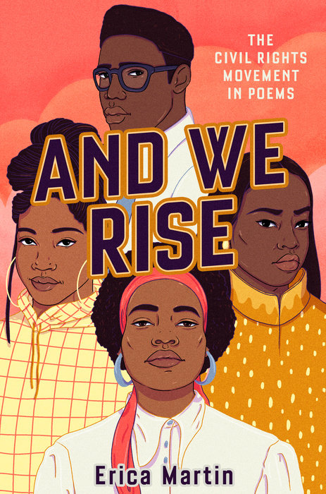 Portada de And we rise; the civil rights movement in poems