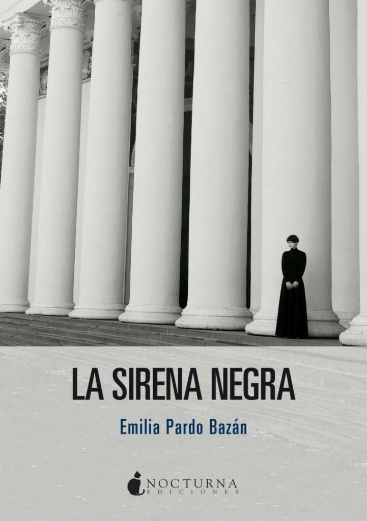 Portada La sirena negra de Emilia Pardo Bazán