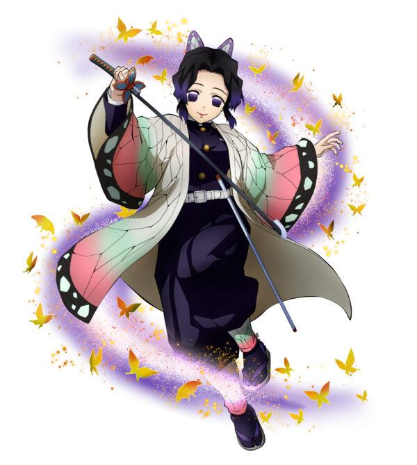 Imagen de Shinobu Kocho como personaje en el videojuego