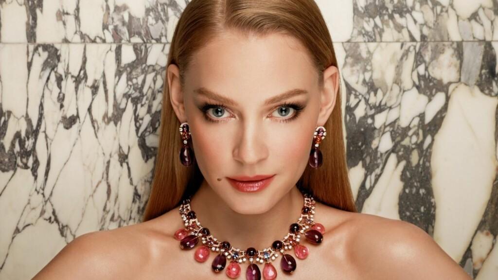 Foto en primer plano de la actriz rusa Svetlana Khodchenkova