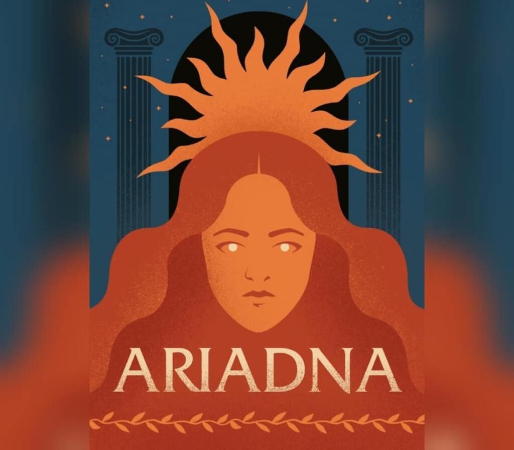 Portada de la novela 'Ariadna'