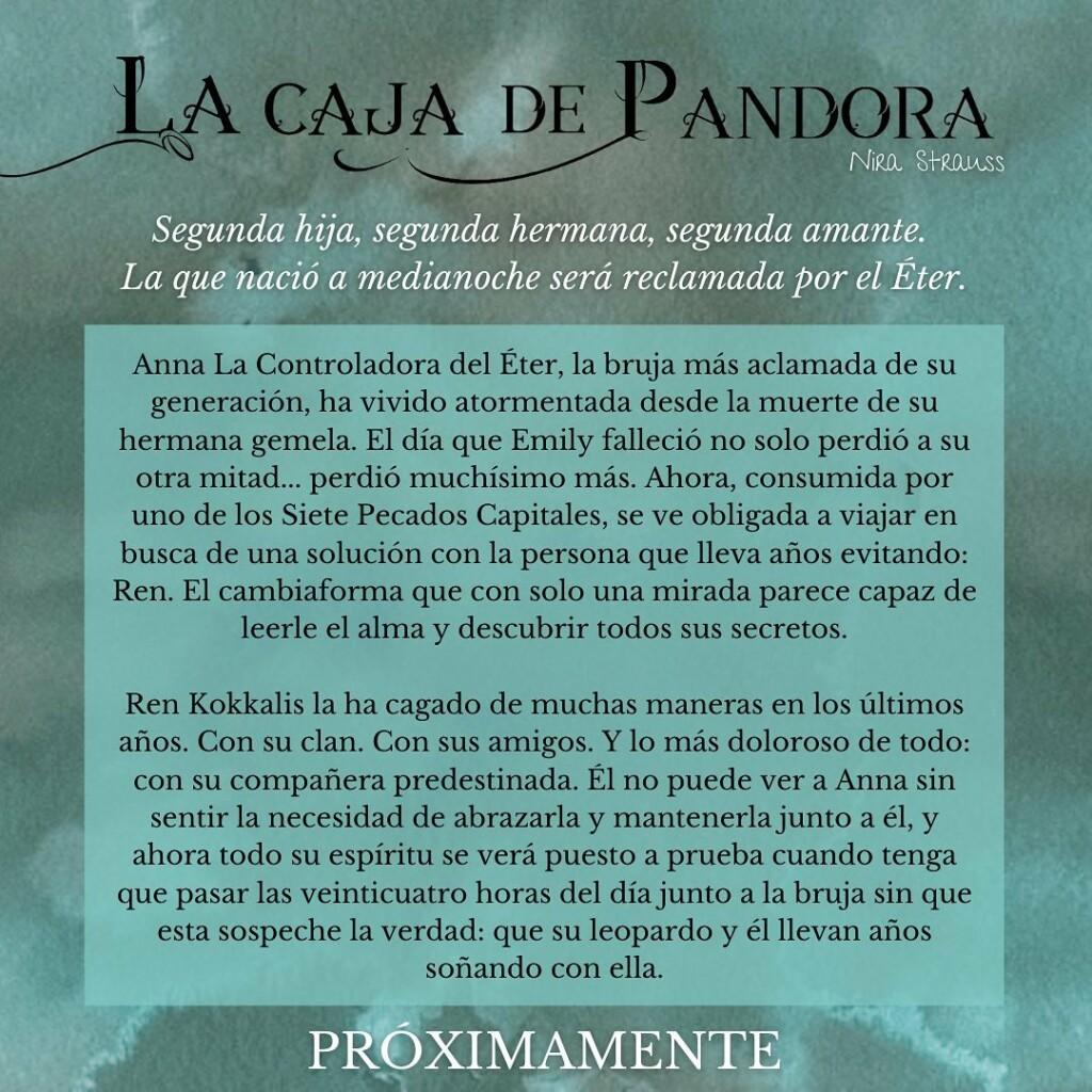 Sinopsis de 'La caja de Pandora'