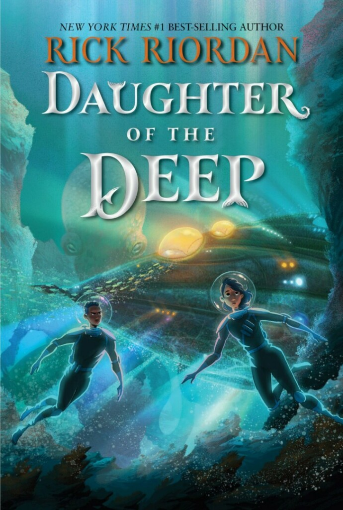 Portada de 'Daughter of the Deep'