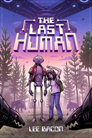 Portada the last human de Lee Bacon