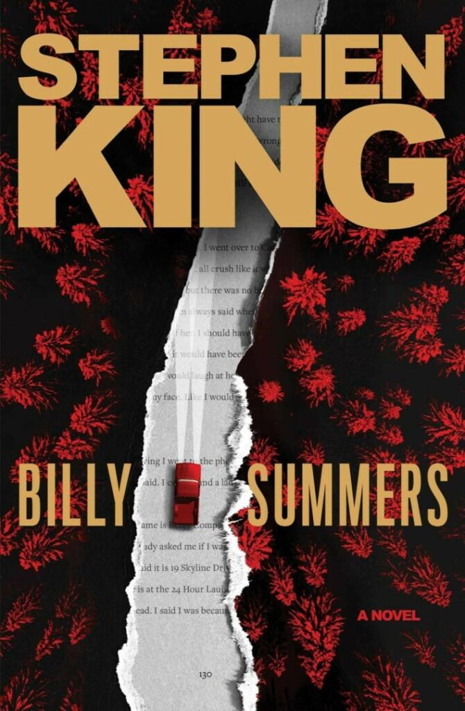 Portada en inglés de la novela 'Billy Summers' de Stephen King