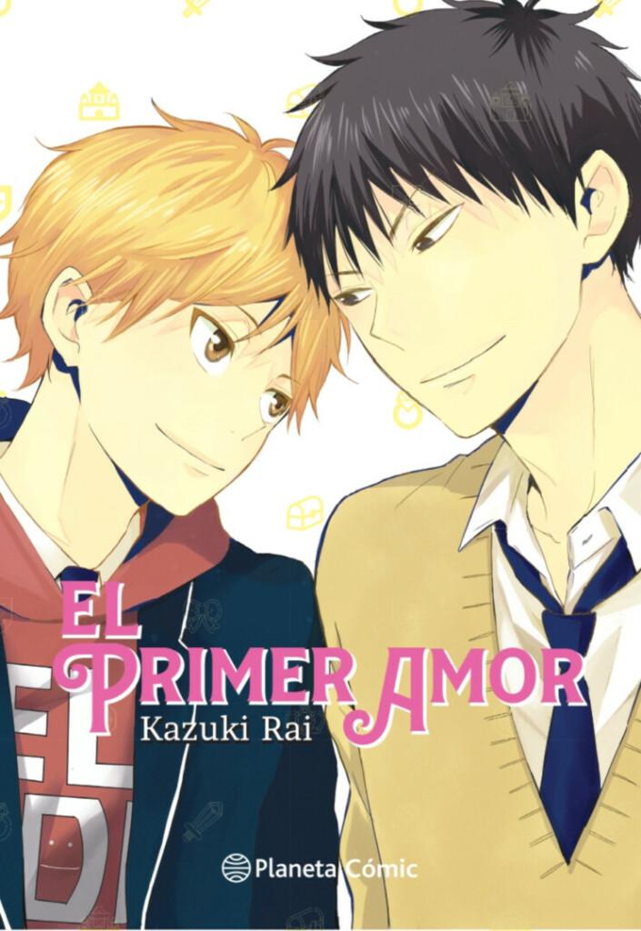 Portada de 'El primer amor' de Kazuki Rai