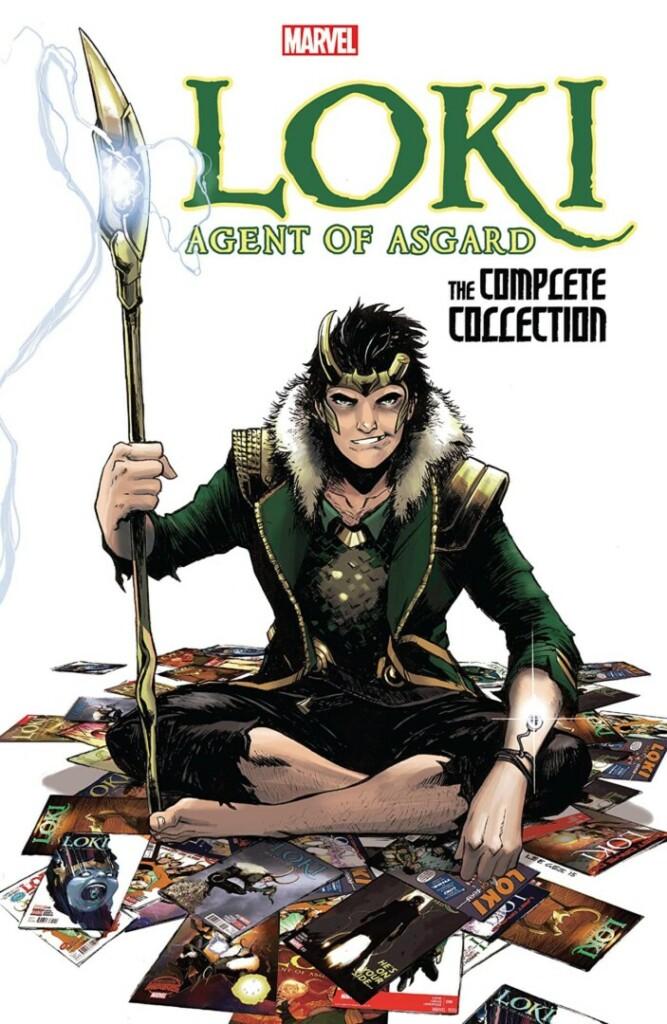 Portada del cómic Loki: Agent of Asgard