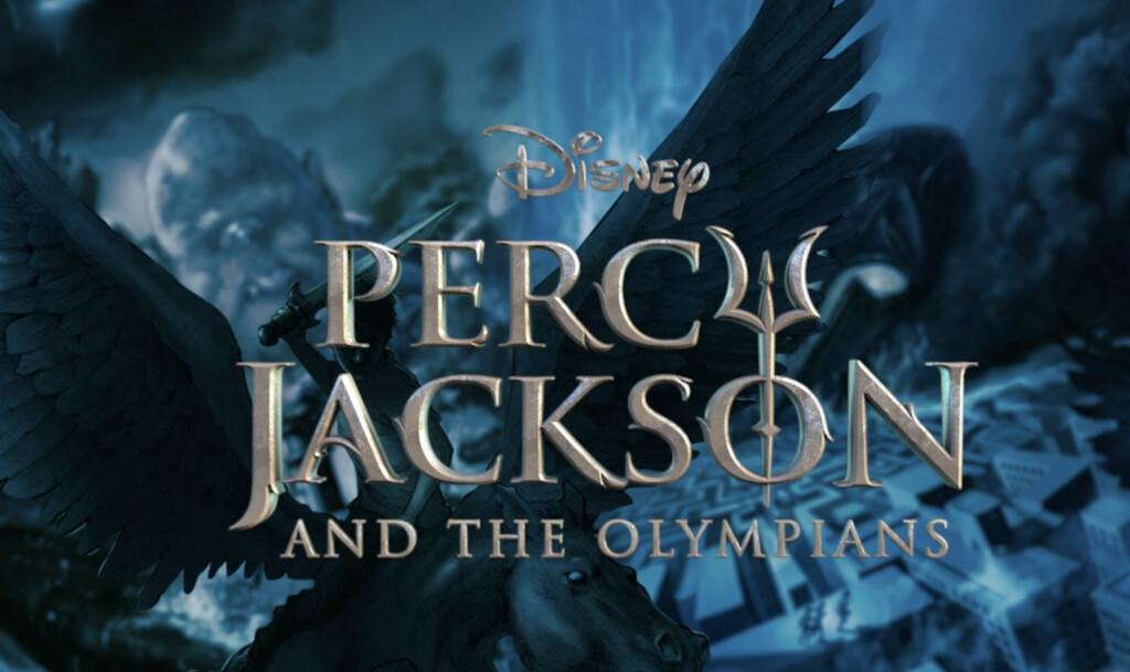 Banner promocional de la serie 'Percy Jackson y los dioses del Olimpo'