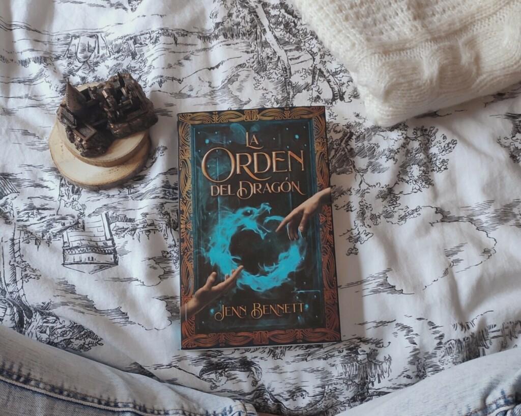 Libro de La orden del dragón de Jenn Bennett