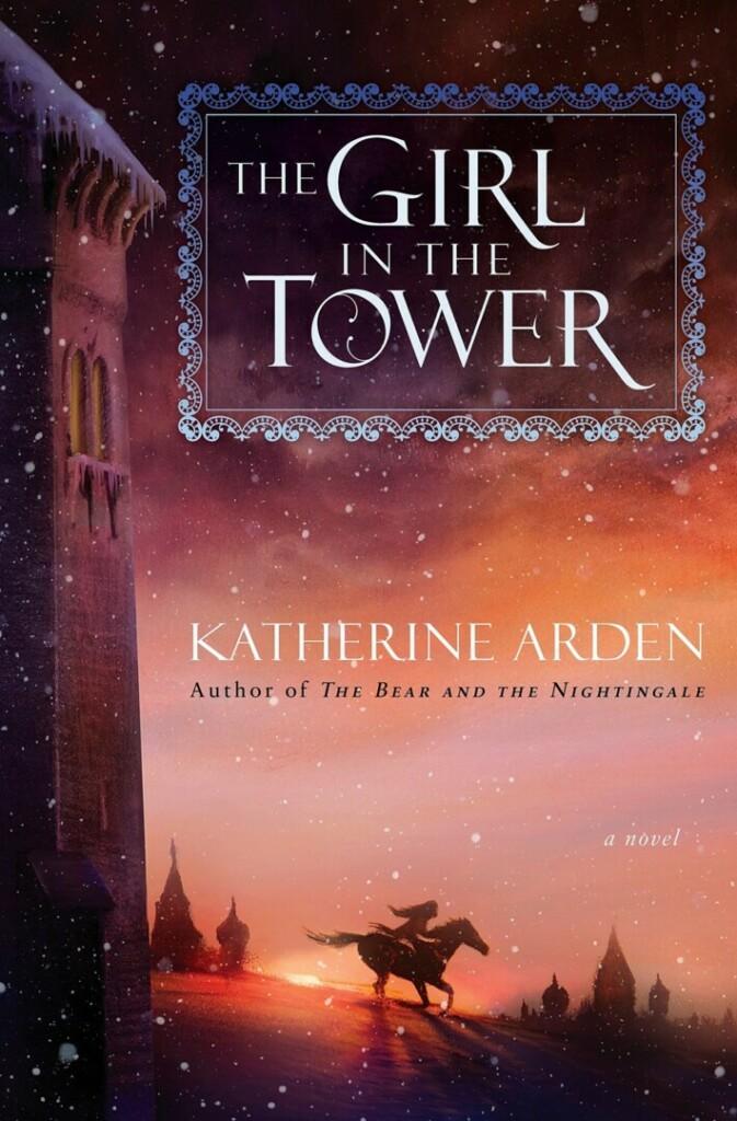 Cubierta en inglés de The Girl in the Tower