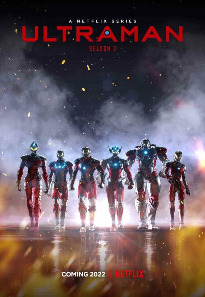 Poster de la segunda temporada de Ultraman