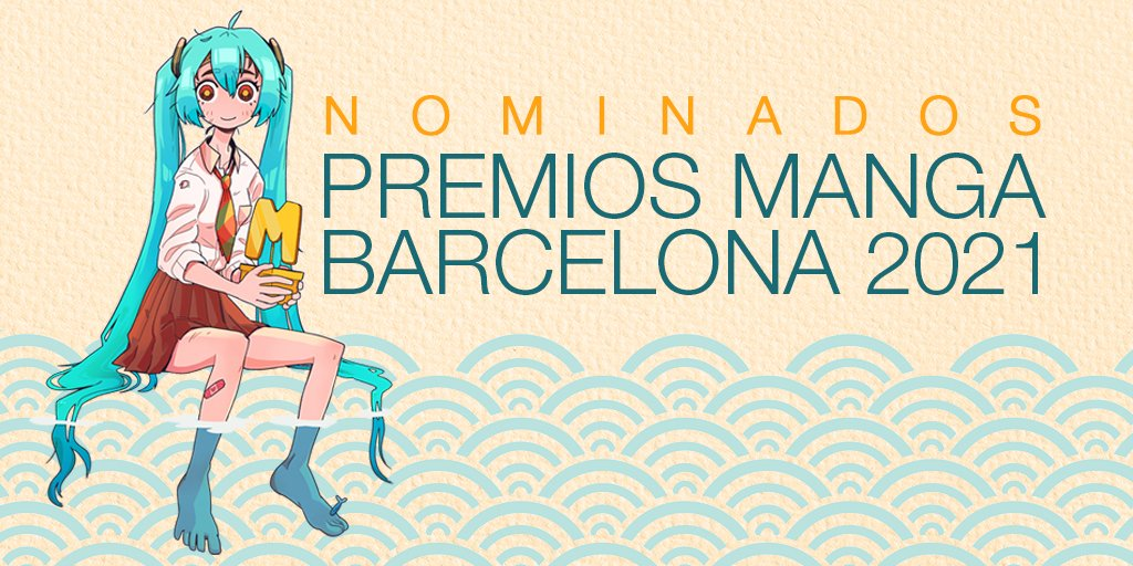 Nominados Premios Manga Barcelona 2021